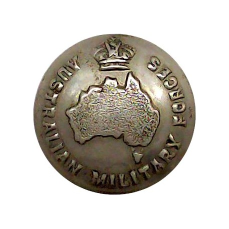 Royal Electrical And Mechanical Engineers 21mm - Blazer Button with Queen Elizabeth's Crown. Gilt Military uniform button