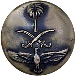 Rifle Brigade (Prince Consort's Own) 1939-1958 16.5mm - Black Brass Military uniform button