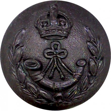 Umvoti Mounted Rifles (South Africa) 16.5mm - Pre-1952 with King's Crown. Brass Military uniform button