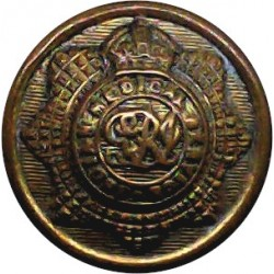 Canada - General Service 19mm - 1952-1968 with Queen Elizabeth's Crown. Brass Military uniform button