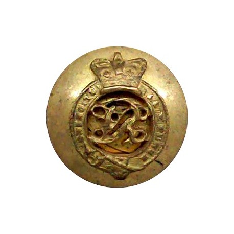Ethiopian Army 15.5mm - Pre-1974  Chrome-plated Military uniform button