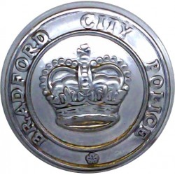 Plymouth Constabulary 17.5mm - Pre-1967  Chrome-plated Police or Prisons uniform button