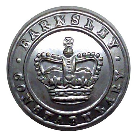 Berkshire Constabulary 24mm - 1952-1968 with Queen Elizabeth's Crown. Chrome-plated Police or Prisons uniform button