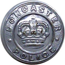 Cheshire Constabulary - Crest 24mm Chrome-plated Police or Prisons uniform button