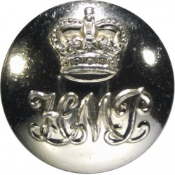 Danish State Police 22mm - Lined  Brass Police or Prisons uniform button