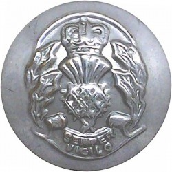 Garda Siochana (Irish Police) 16.5mm Chrome-plated Police or Prisons uniform button