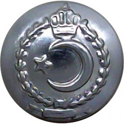 British Transport Commission Police 23mm - 1948-1952 with King's Crown. Chrome-plated Police or Prisons uniform button