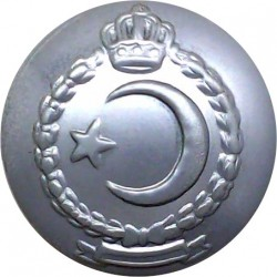 Kuwait Police 24mm - Silver Colour  Anodised Police or Prisons uniform button
