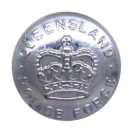West Riding Of Yorkshire Constabulary 24mm - Pre-1968  White Metal Police or Prisons uniform button