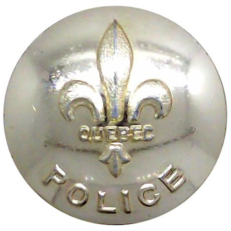 Kent Constabulary 24.5mm - Post-1952 with Queen Elizabeth's Crown. Chrome-plated Police or Prisons uniform button