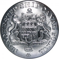 Hertfordshire Constabulary 24mm - Post-1952 with Queen Elizabeth's Crown. Chrome-plated Police or Prisons uniform button