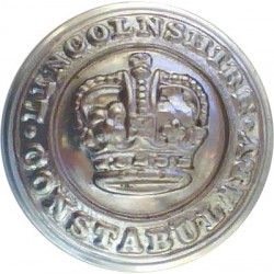 Mid-Anglia Constabulary 24mm - 1965-1974 with Queen Elizabeth's Crown. Chrome-plated Police or Prisons uniform button