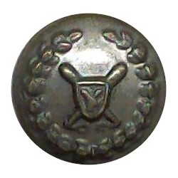 Cyprus Police 13mm - Post-1960  Chrome-plated Police or Prisons uniform button