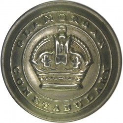 Oxford City Police 17.5mm - Pre-1968 with Queen Elizabeth's Crown. Chrome-plated Police or Prisons uniform button
