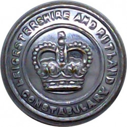 Somerset Constabulary 17.5mm - Pre-1952 with King's Crown. Chrome-plated Police or Prisons uniform button