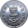 Her Majesty's Prisons - Crown Pattern 17.5mm with Queen Elizabeth's Crown. Chrome-plated Police or Prisons uniform button