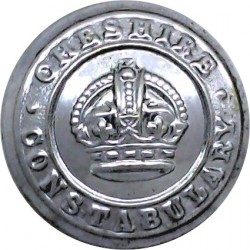 West Yorkshire Metropolitan Police 19mm - Rose Chrome-plated Police or Prisons uniform button