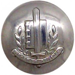 Netherlands Police 16mm  Chrome-plated Police or Prisons uniform button