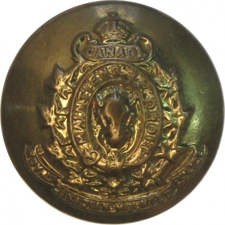 Ceylon Police 14mm  Chrome-plated Police or Prisons uniform button