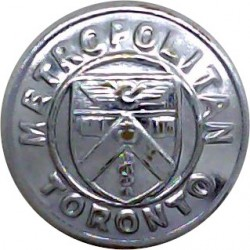 Scottish Police 19mm - Black with King's Crown. Horn Police or Prisons uniform button