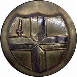 City Of London Police (Sergeants & Constables) 22.5mm  Brass Police or Prisons uniform button