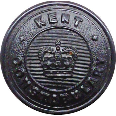 Birkenhead County Borough Police 16.5mm - Pre-1967  Chrome-plated Police or Prisons uniform button