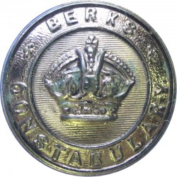 Plymouth Constabulary 25.5mm - Pre-1967 Chrome-plated Police or Prisons uniform button