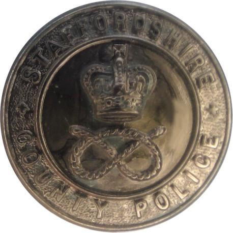 Birmingham City Police 16.5mm - Pre-1974  Chrome-plated Police or Prisons uniform button