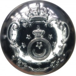 British Transport Commission Police 26mm - 1952-1962 with Queen Elizabeth's Crown. Horn Police or Prisons uniform button