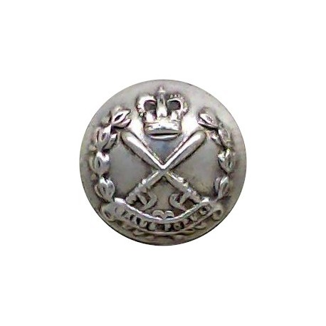 Dubai Police 23mm  Blackened Police or Prisons uniform button