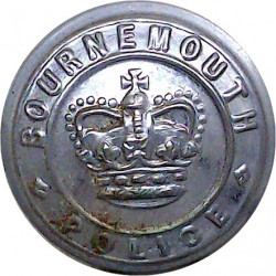 Tanganyika Police - GRI (became Tanzania) 15.5mm - 1922-1936 with King's Crown. Silver-plated Police or Prisons uniform button