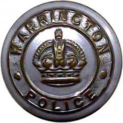 British South Africa Police - 1953-1965 15mm - Gold Colour Queen's Crown. Anodised Police or Prisons uniform button