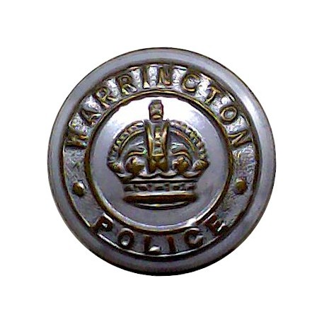 British South Africa Police - 1953-1965 15mm - Gold Colour with Queen Elizabeth's Crown. Anodised Police or Prisons uniform butt