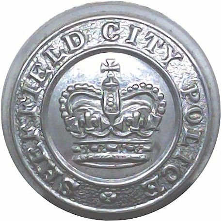 Abu Dhabi Police (Falcon With Stars) 23mm Chrome-plated Police or Prisons uniform button