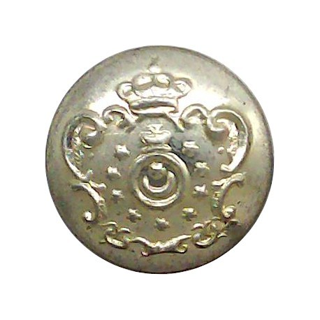 Royal Oman Police 14mm Silver Colour  Anodised Police or Prisons uniform button
