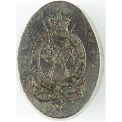 33rd Lancashire Rifle Volunteers: Ardwick Manchester Die For Sealing Wax with Queen Victoria's Crown. Metal