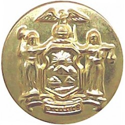 Ceylon Police 17.5mm - 1948-1978 Chrome-plated Police or Prisons uniform button