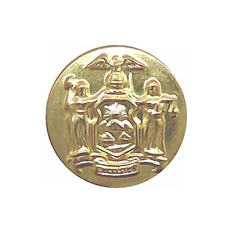 Ceylon Police 17.5mm - 1948-1972 Chrome-plated Police or Prisons uniform button