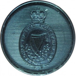 Lancashire County Fire Brigade 17.5mm Chrome-plated Fire Service uniform button