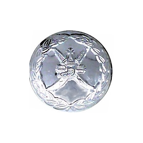 Bristol Fire Brigade 24.5mm - Pre-1974  Chrome-plated Fire Service uniform button