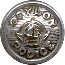 City Of Coventry Fire Brigade 24.5mm Chrome-plated Fire Service uniform button