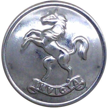 Brighton Fire Brigade 24mm - Post-1948 Chrome-plated Fire Service uniform button