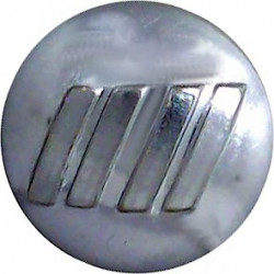 British Airports Authority Fire Brigade 17mm  Chrome-plated Fire Service uniform button
