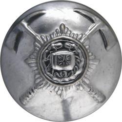 British Fire Services Association 17mm  Chrome-plated Fire Service uniform button