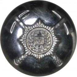 British Fire Services Association 24mm  Chrome-plated Fire Service uniform button