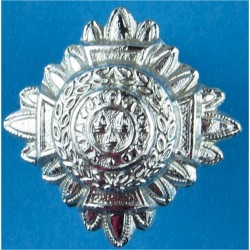 Inspector's Rank Star (pip) 23.5mm Side  Chrome-plated UK Police or Prison insignia