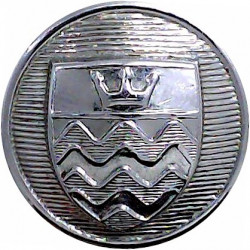 Cheshire Fire Brigade (not 'County') 24mm  Chrome-plated Fire Service uniform button