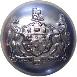 Humberside Fire Brigade 16.5mm Chrome-plated Fire Service uniform button
