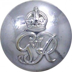 Her Majesty's Customs & Excise 23mm Queen's Crown. Brass Civilian uniform button