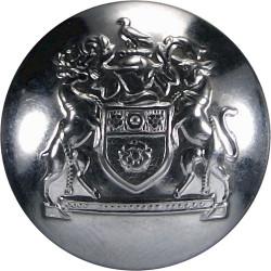 St John Ambulance Brigade 25mm Chrome-plated Civilian uniform button